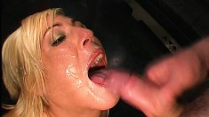 A bunch of inexperienced girls give head and get plowed for casting