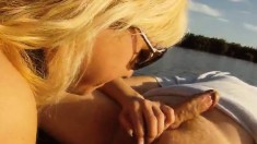 Hot Babe Jasmine Gets Naked And Embarks On An Exciting Canoe Adventure