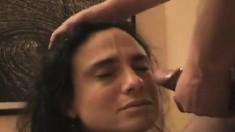 Hypnotized Amateur Facial