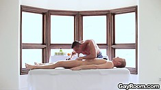Christopher Daniel must suck on skinny dick if he wants to get fucked later
