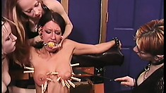 She was a naughty girl and now has to pay the punishment to her mistress