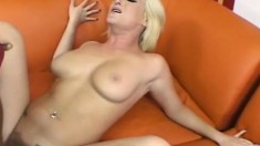 Canadian blonde babe goes for an American black dick and loves it
