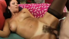 Pussy-hungry guy gets to pound this sexy MILF's delicious butt