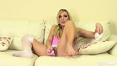 Amy Brooke has never considered herself a nasty girl, but she really is in fact nasty babe