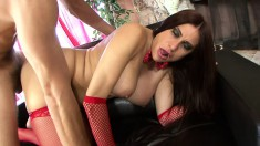 Curvaceous milf in lingerie Sheila Marie is in need of a hard pounding
