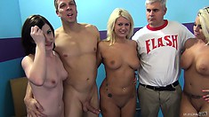 Jennifer White and her girlfriends Britney Amber and Laela Pryce love wild shagging