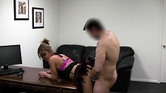 Reality Cumshot Facial For Sexy Up For It Blonde For Cash