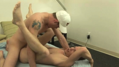 Show gay twinks with cum the ass and bare Braden & Peter