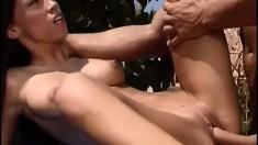 Naughty erotic massage turns into a hardcore fuckfest for Mya