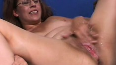 Naughty housewife releases her pussy juices all over the big black cock